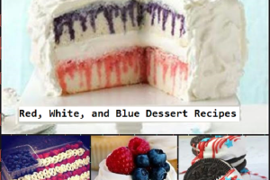 Red White and Blue Dessert Recipes