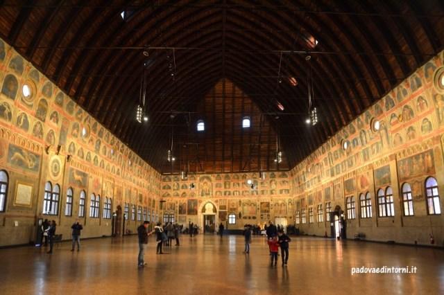 Palazzo delle Ragione - interno Salone ©RobertaZago padovaedintori.it