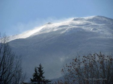 Spindrift off Mt. Madison from as seen from my yard