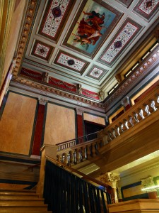 Historic staircase ceiling - The Ritz-Carlton, Vienna