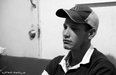 """""""No aproveche la oportunidad que me dieron de estudiar y pues ahora estoy aquí, tratando de llegar a Estados Unidos por tercera vez"""" Milton Cabrera, 28 años, Honduras."""
