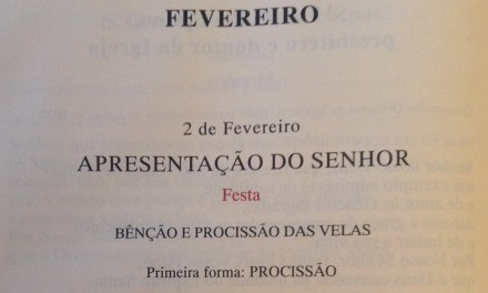 Bênção e procissão de velas em Vila Cova e São Gião