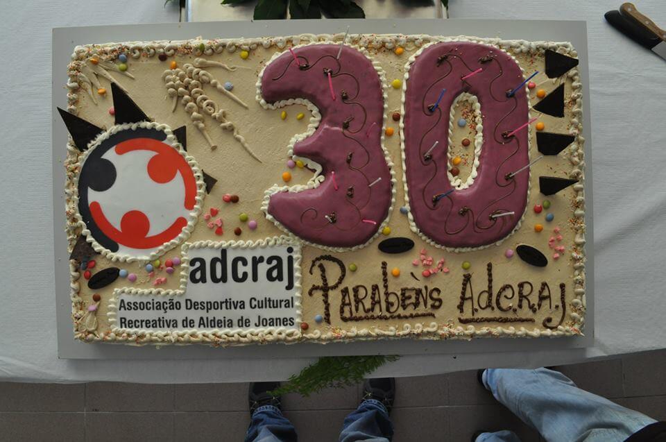 ALDEIA DE JOANES – 30ºANIVERSÁRIO DA ADCRAJ (ASSOCIAÇÃO DESPORTIVA CULTURAL RECREATIVA DE ALDEIA DE JOANES)