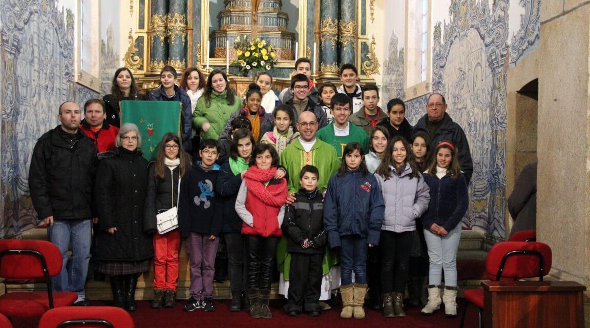 Acólitos do Santuário de Fátima: visita à Guarda.
