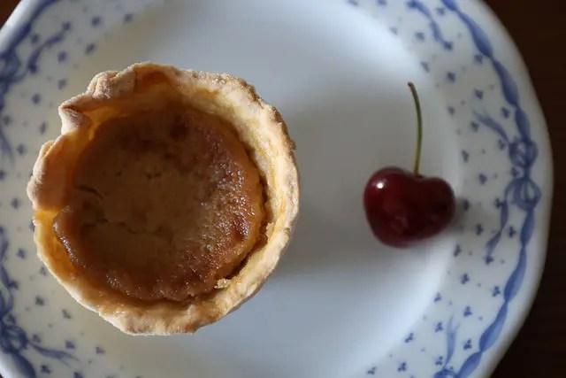 Receitas cá de casa: Pastéis de nata de cereja