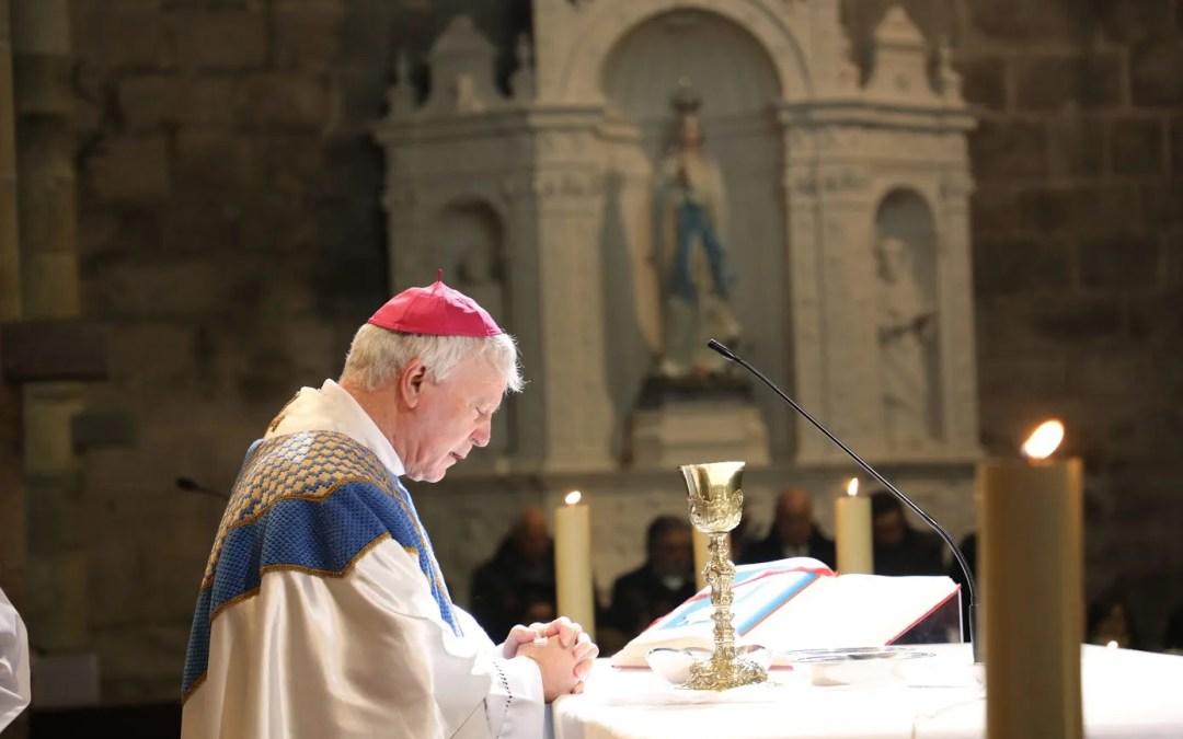 D. Manuel Felício: Bispo há 15 anos.