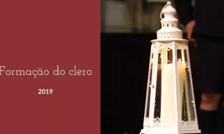 """Formação do Clero aborda """"Diocese: o desafio da missão."""""""