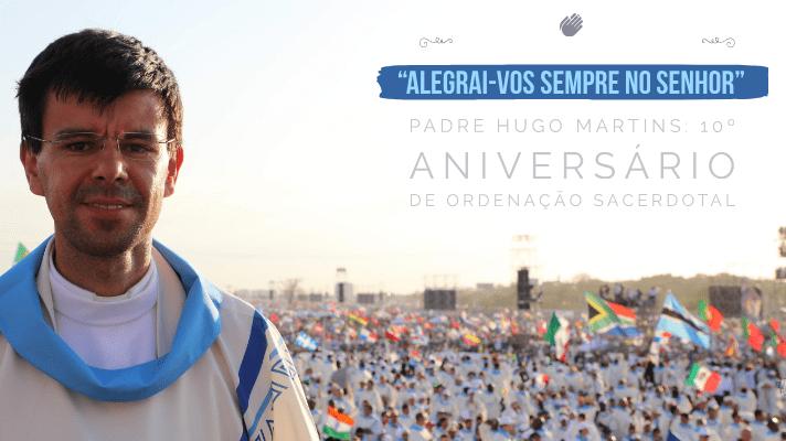 10º aniversário, às 12:30h presido à missa, em Fátima – Capelinha das Aparições