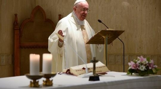Papież na Msza porannej: ubóstwo stanowi centrum Ewangelii