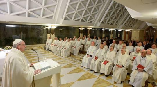 Papież na Mszy o wielkoduszności i dawaniu świadectwa