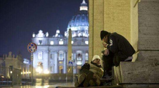 Narodziny na Pl. Świętego Piotra