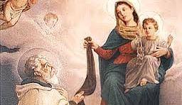 Najświętsza Maryja Panna z góry Karmel. Szkaplerz karmelitański