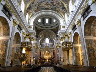 Relikwie świętego Ojca Pio w katedrze  świętego Mikołaja w Ljubljanie w Slovenii
