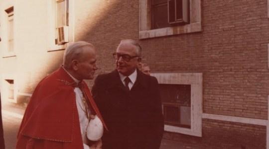 Pożegnanie lekarza Jana Pawła II