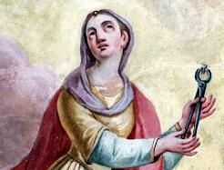 Święta Apolonia, dziewica i męczennica