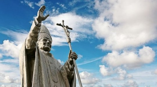 Pomnik świętego Jana Pawła II w Rosji (Vatican Service News - 05.07.2017)