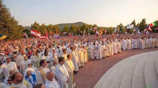 Młodzi w Medjugorie (2.08.2018)
