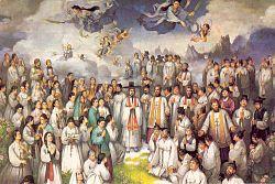 Święci męczennicy Andrzej Kim Tae-gŏn, prezbiter, Paweł Chŏng Ha-sang i Towarzysze (20.09.2018)
