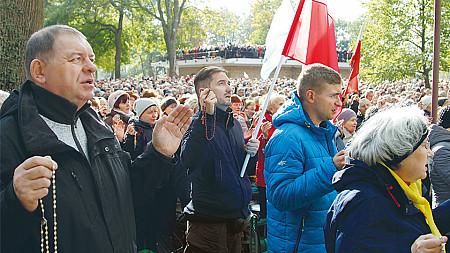 Różaniec na stulecie niepodległej Polski (08.11.2018)