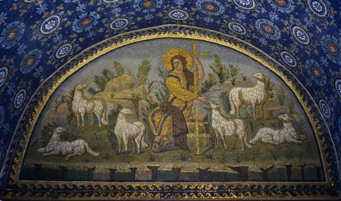 Good Shepherd lunette