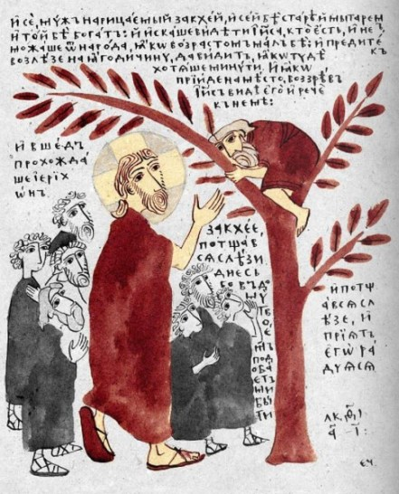 Zacchaeus to seek and to save taxes
