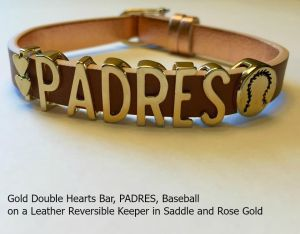 KEEP PADw - Dheart Pad Ball Brn-Gld