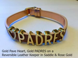 KEEP PADw - Heart Padres Brn