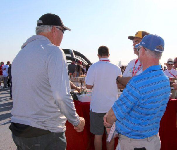 Coach John Kentera at the Midway Classic
