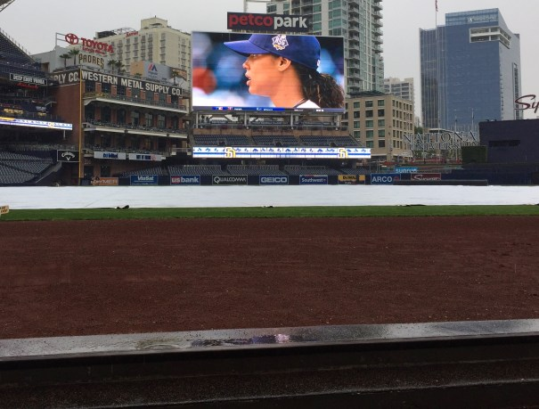 """Watching """"Pitch"""" from the Padres' Dugout"""
