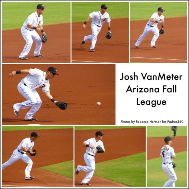 Josh VanMeter at Arizona Fall League 10/28/16