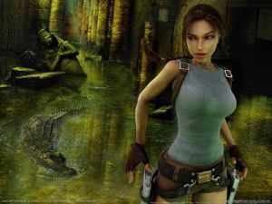 La valiente Lara Croft