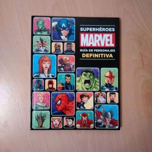 Marvel Guía definitiva de superhéroes