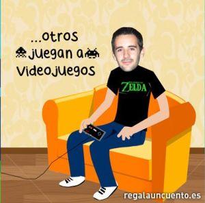 Papá gamer fan de Zelda