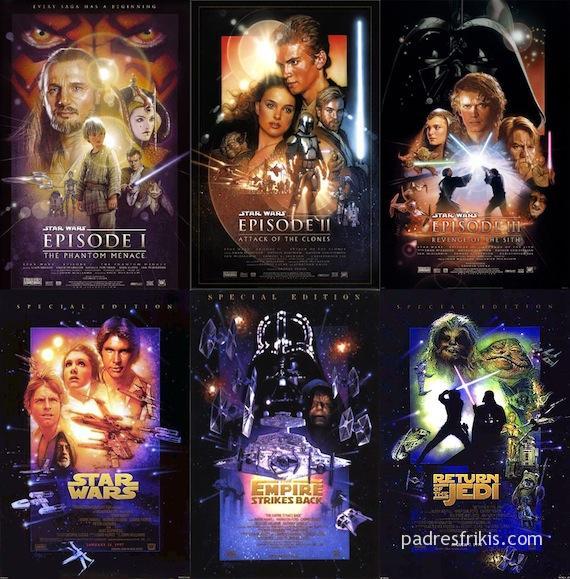 En Qué Orden Hay Que Ver Star Wars Padres Frikis