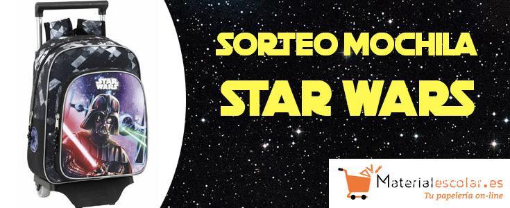 Sorteo mochila Star Wars
