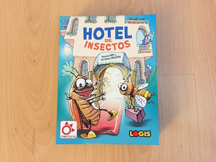 Hotel de insectos, juego de Mercurio