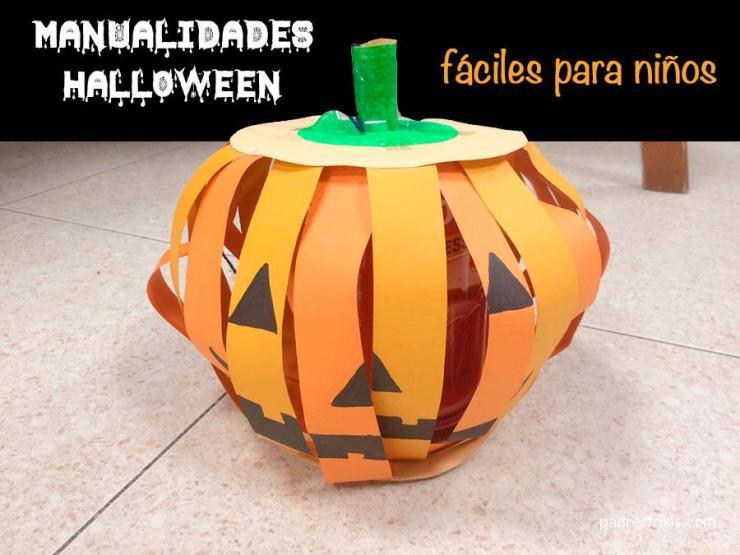 Manualidades de Halloween fáciles para niños