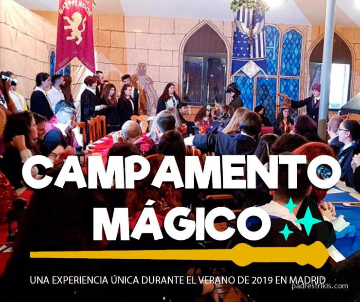 Campamento Mágico de Harry Potter en Madrid
