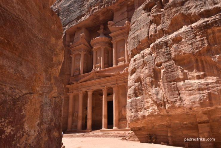 Indiana Jones en Petra Jordania