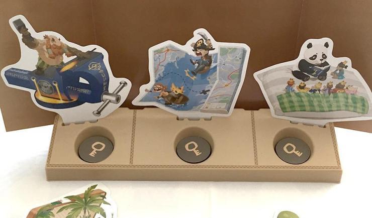 Los Viajeros ven 3 cartas