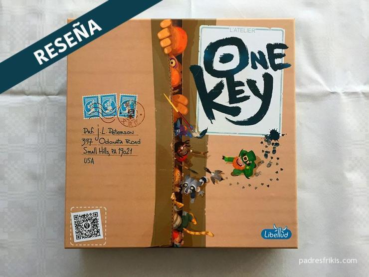 Reseña One Key juego de mesa