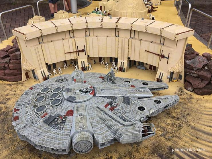 Halcón Milenario en Legoland Alemania