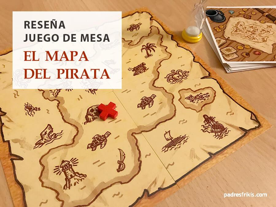 """Reseña juego mesa """"El mapa del pirata"""""""