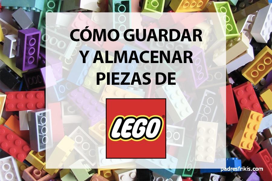 Cómo guardar y almacenar piezas de LEGO