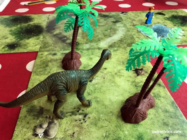 Descubriendo que hay diplodocus