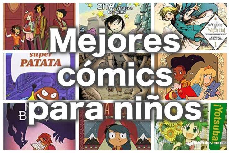 Mejores cómics infantiles para niños