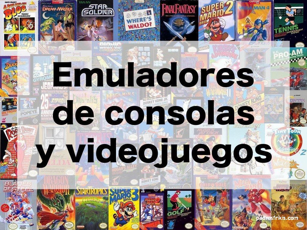 Emuladores consolas y videojuegos