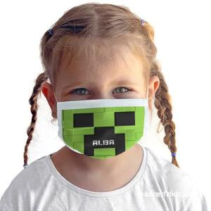 mascarilla minecraft