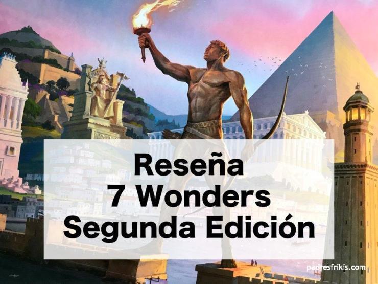 Reseña 7 Wonders Segunda Edición