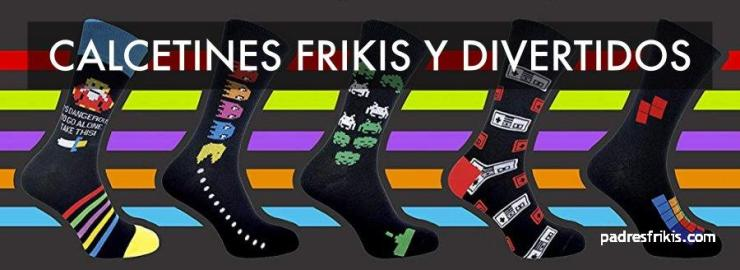 calcetines frikis divertidos
